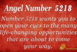 5218 angel number