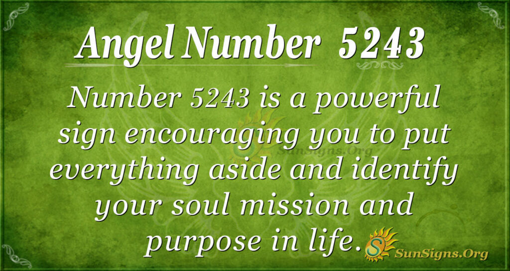 5243 angel number