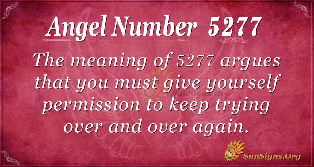 5277 angel number
