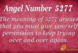 5277 angel number