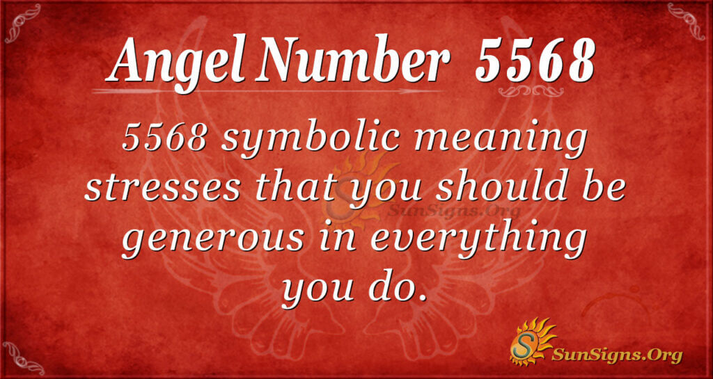 5568 angel number