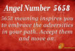 5658 angel number