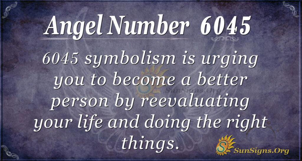 6045 angel number