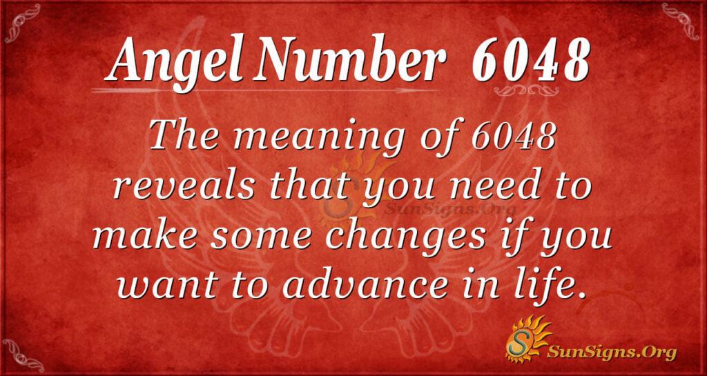6048 angel number