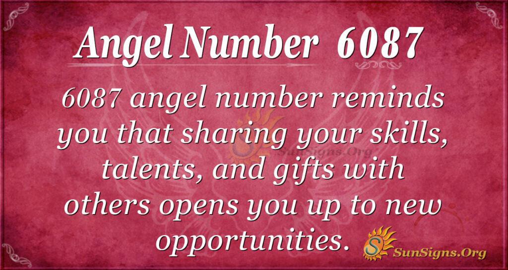 6087 angel number