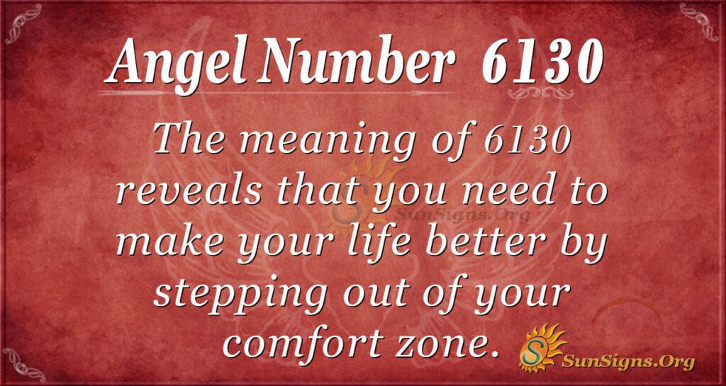 6130 angel number