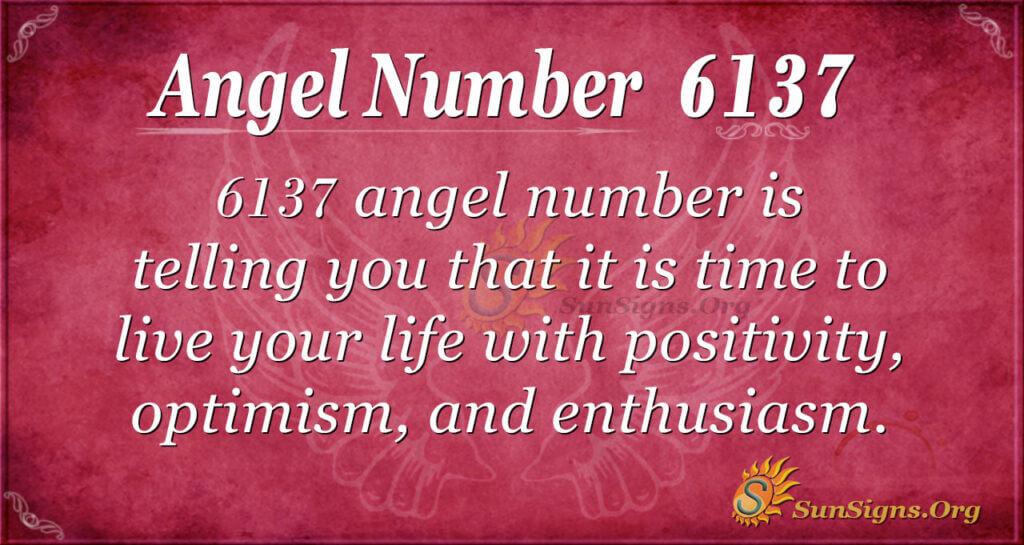 Angel Number 6137