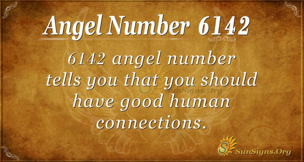 Angel Number 6142