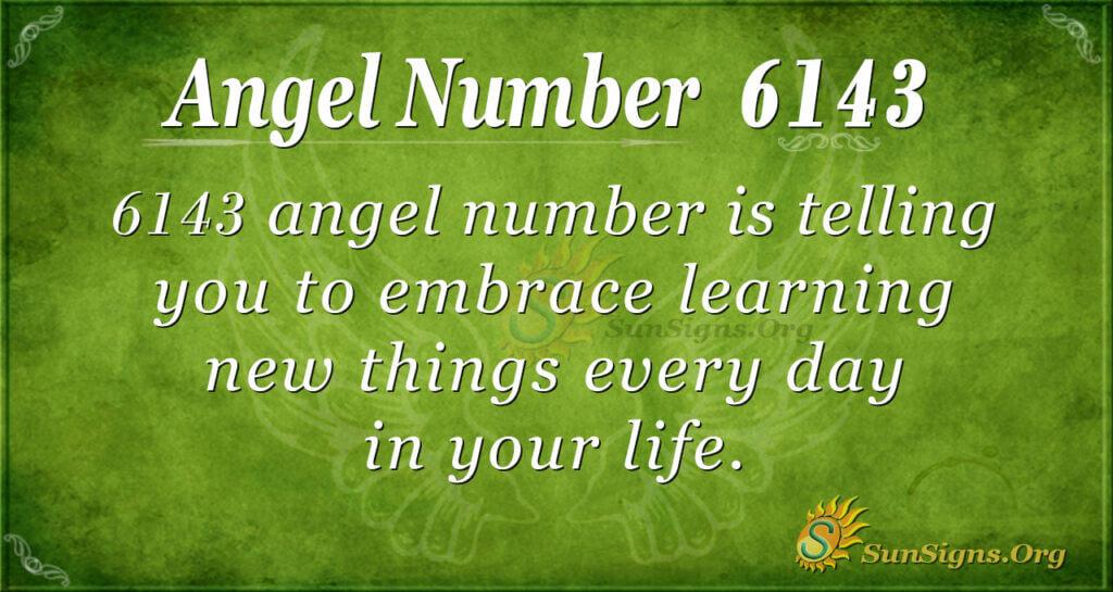 Angel Number 6143