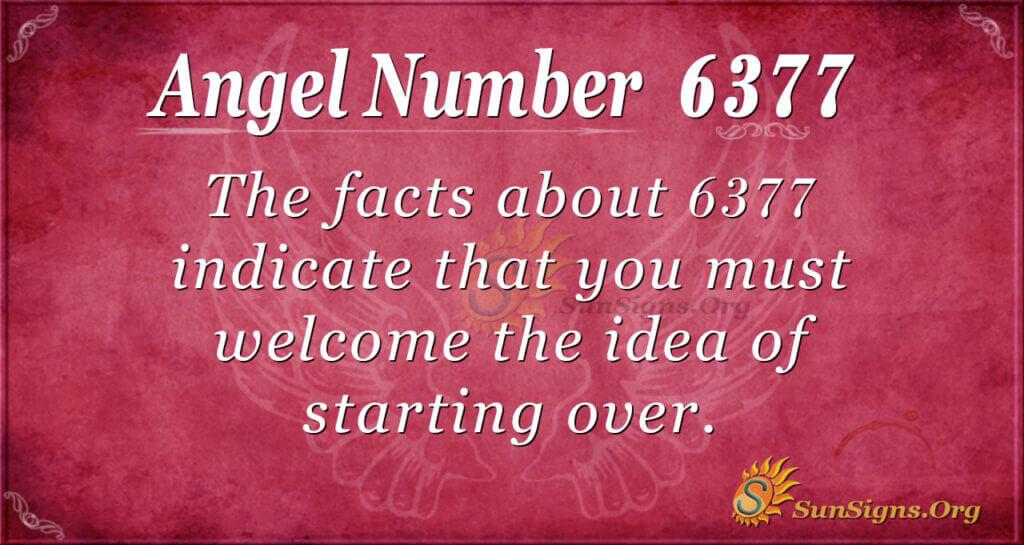 6377 angel number