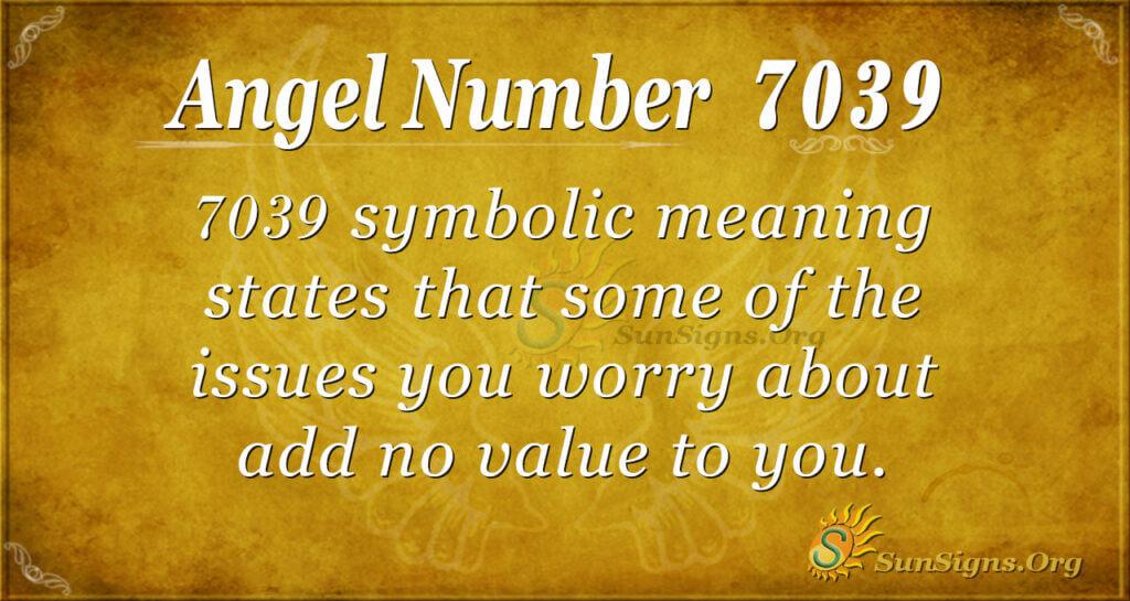 7039 angel number