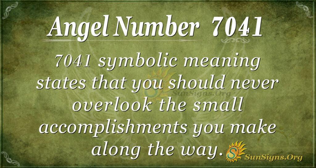 7041 angel number