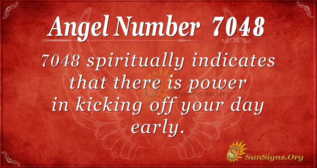 angel number 7048