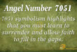 7051 angel number