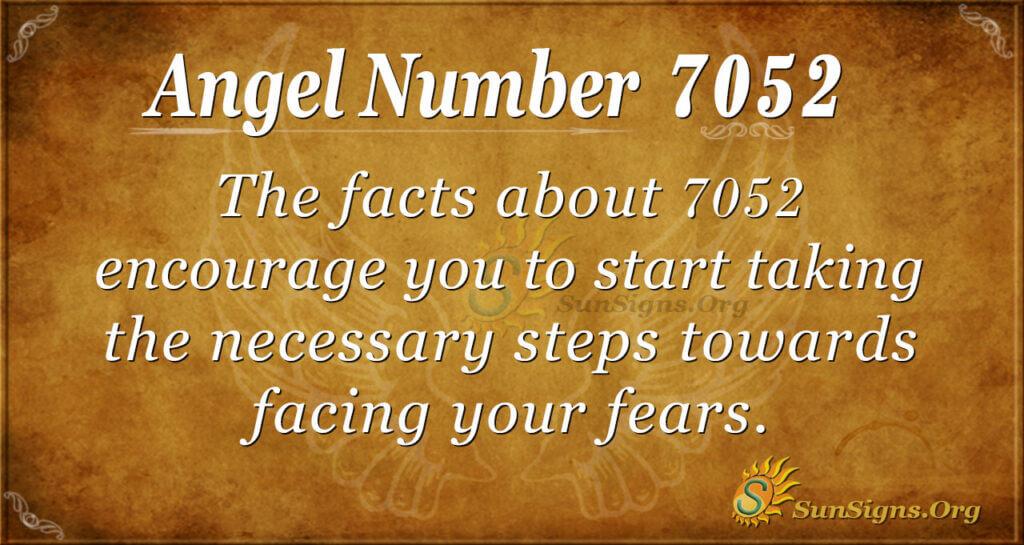 7052 angel number