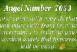 7053 angel number
