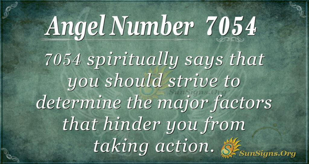 7054 angel number