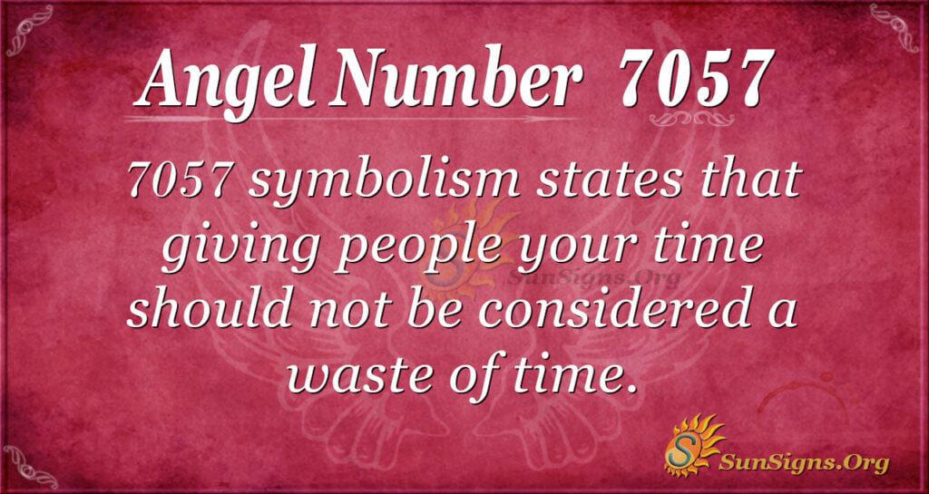 7057 angel number