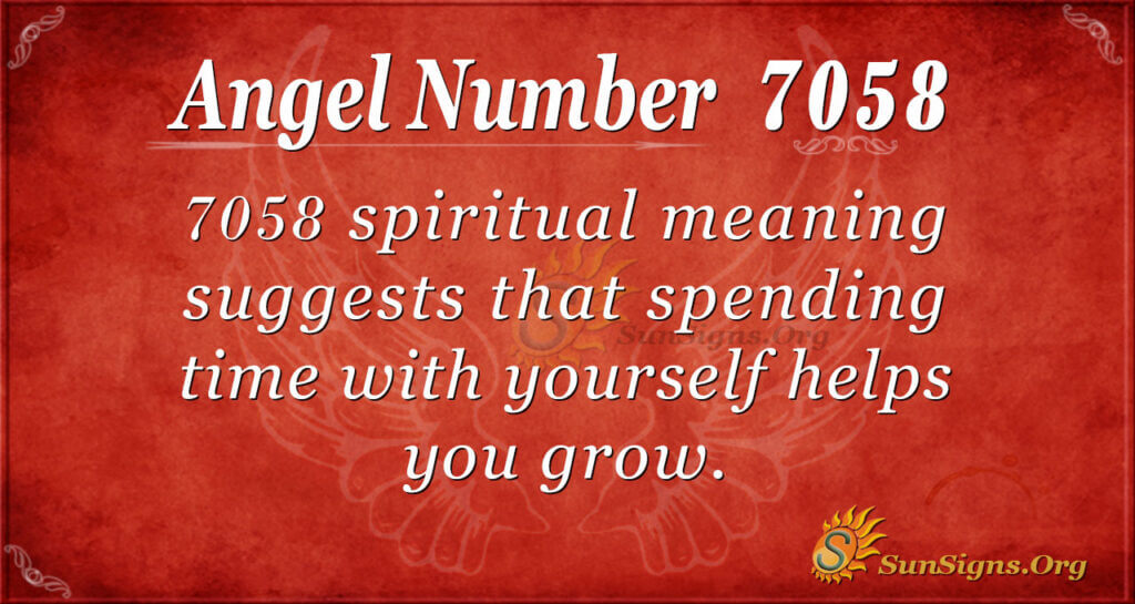 7058 angel number