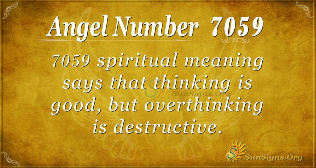 7059 angel number