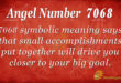 7068 angel number
