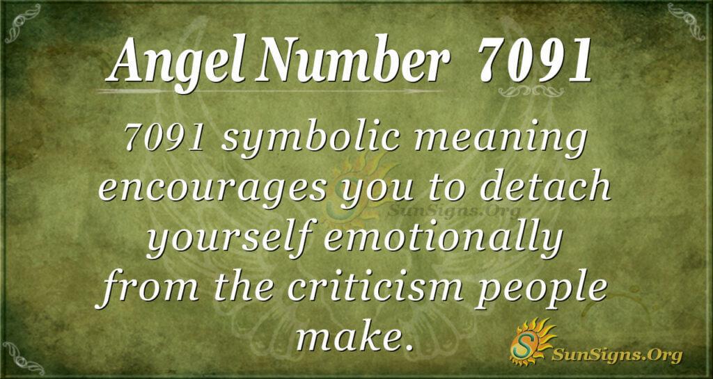 7091 angel number