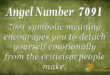 7091 angel number