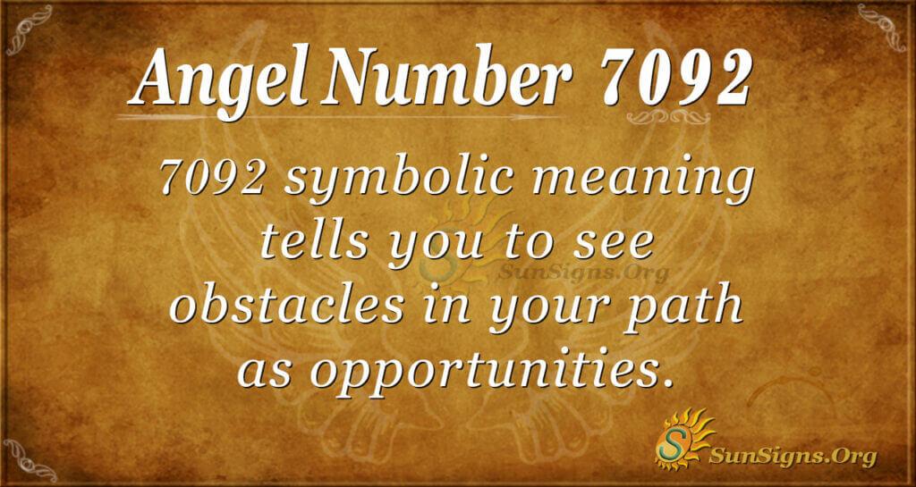7092 angel number