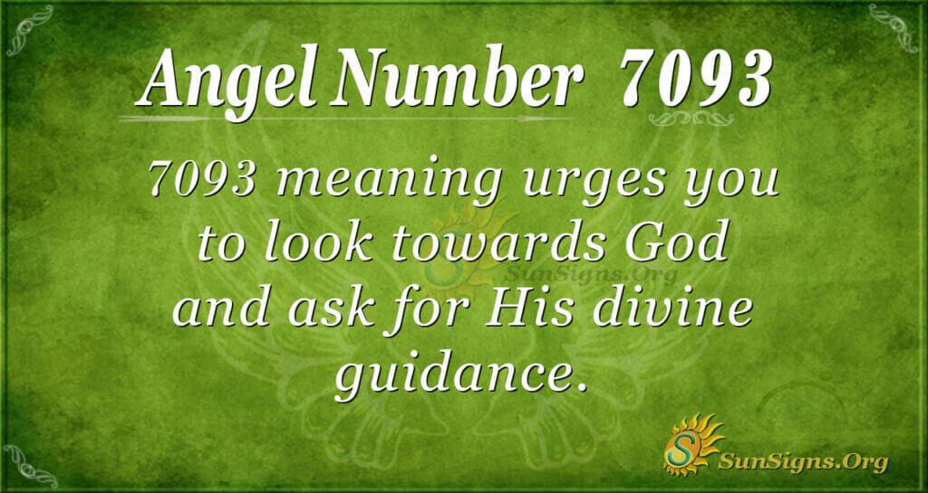 7093 angel number
