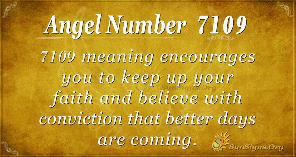 7109 angel number