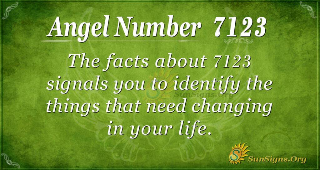 7123 angel number