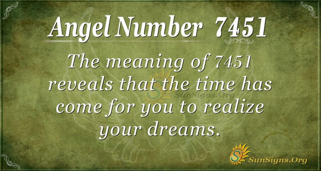 7451 angel number