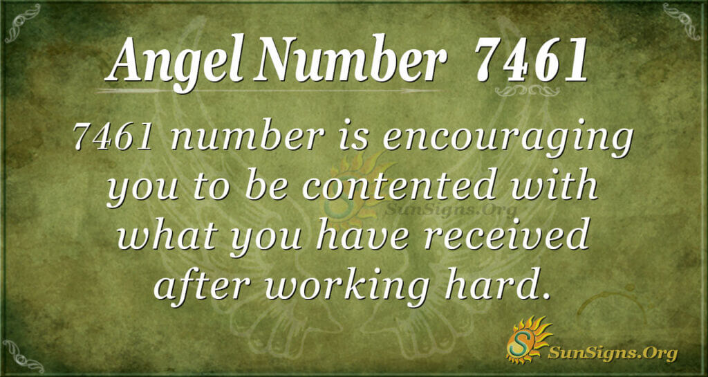 7461 angel number