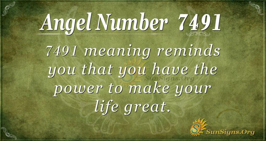 7491 angel number