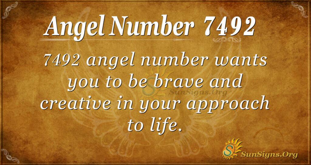 7492 angel number