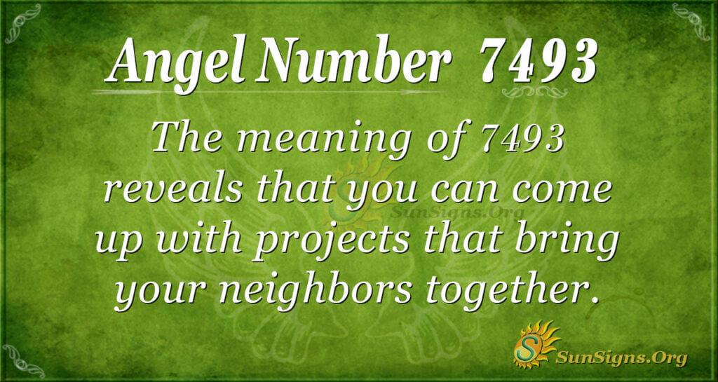 7493 angel number