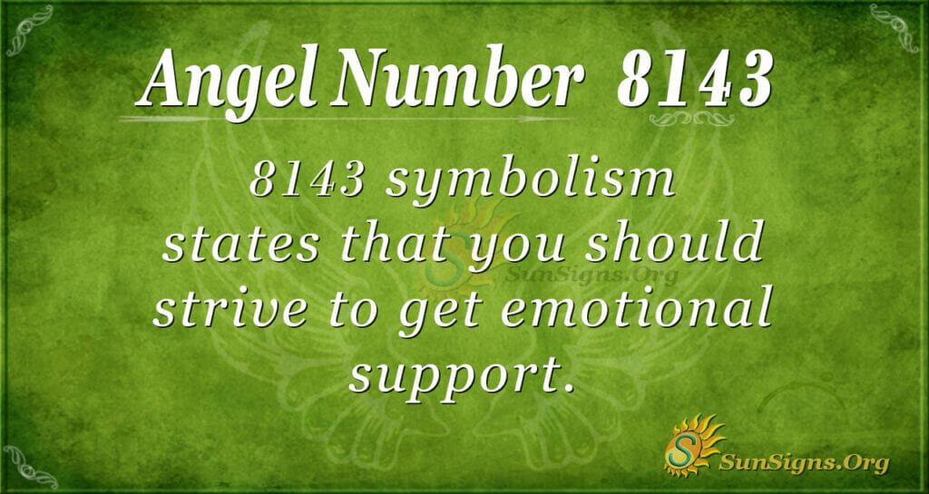 8143 angel number