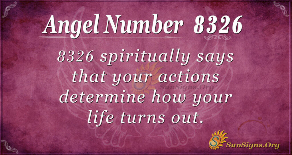 8326 angel number