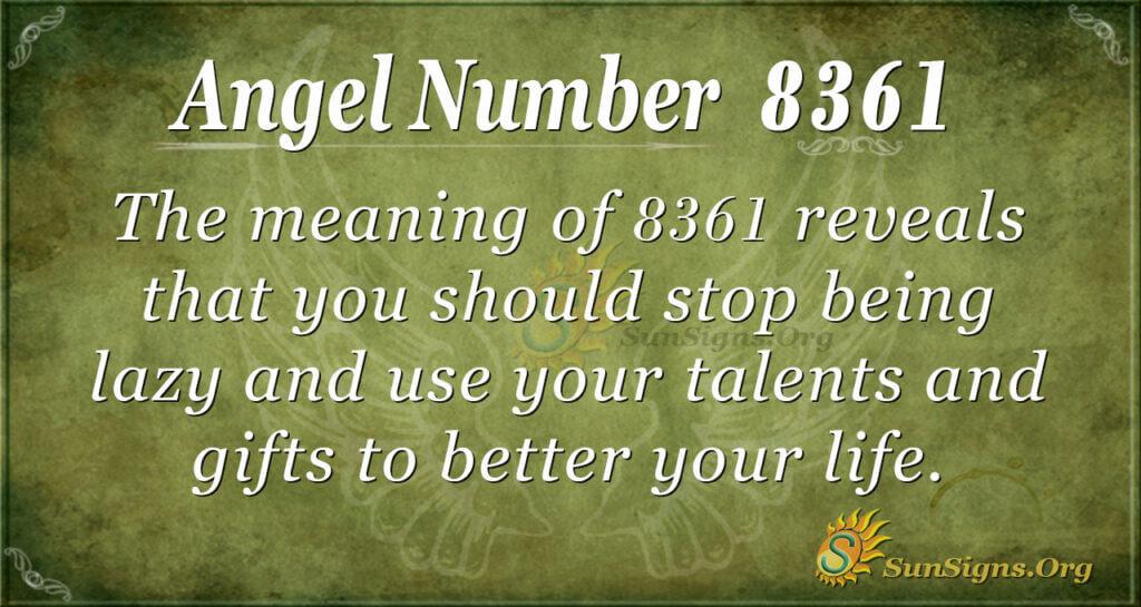 8361 angel number