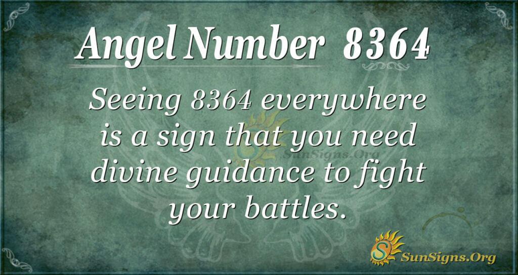 8364 angel number