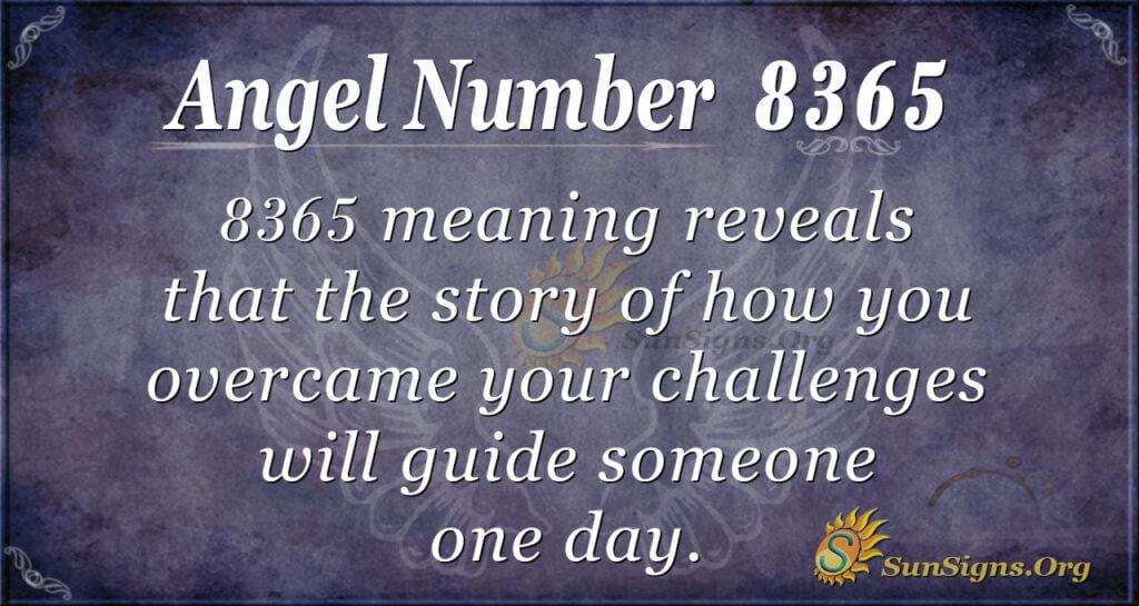 8365 angel number