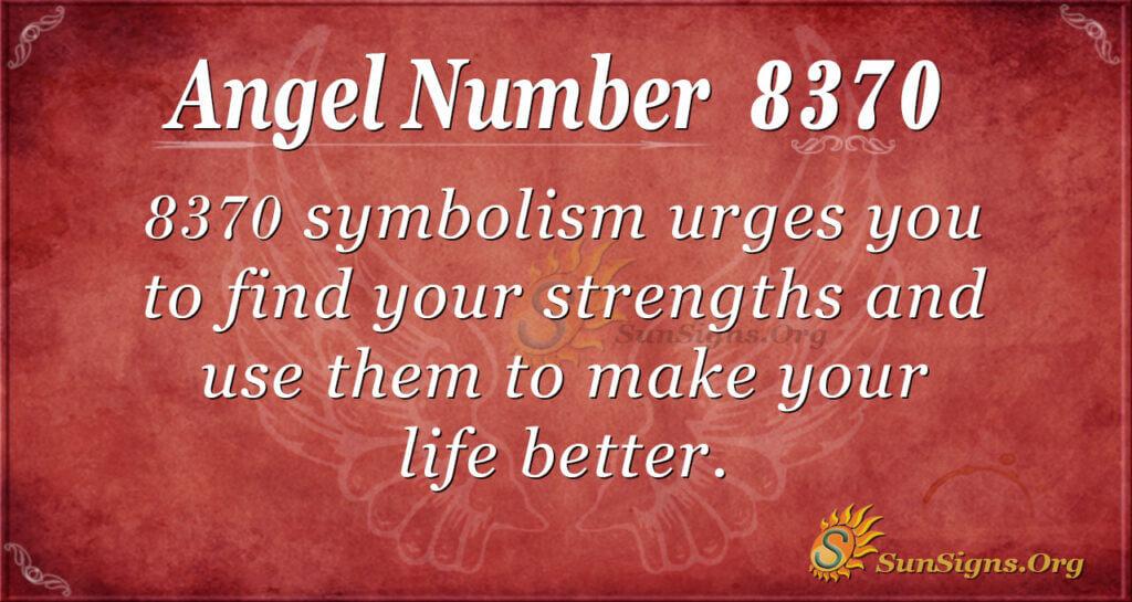 8370 angel number