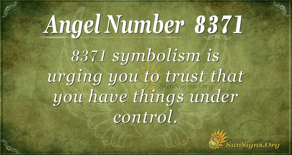 8371 angel number