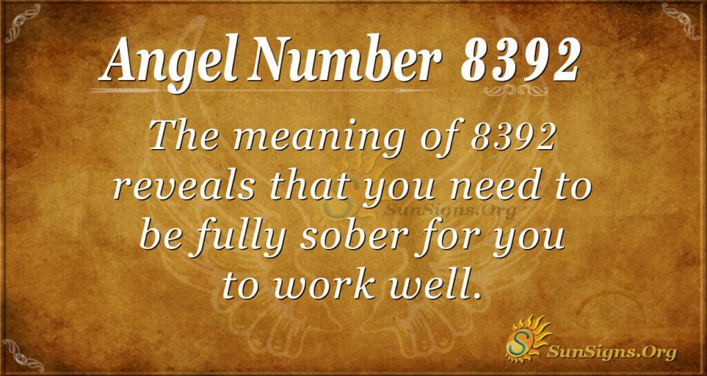8392 angel number