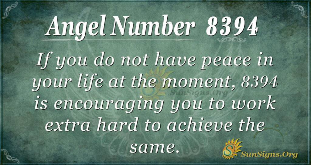 8394 angel number