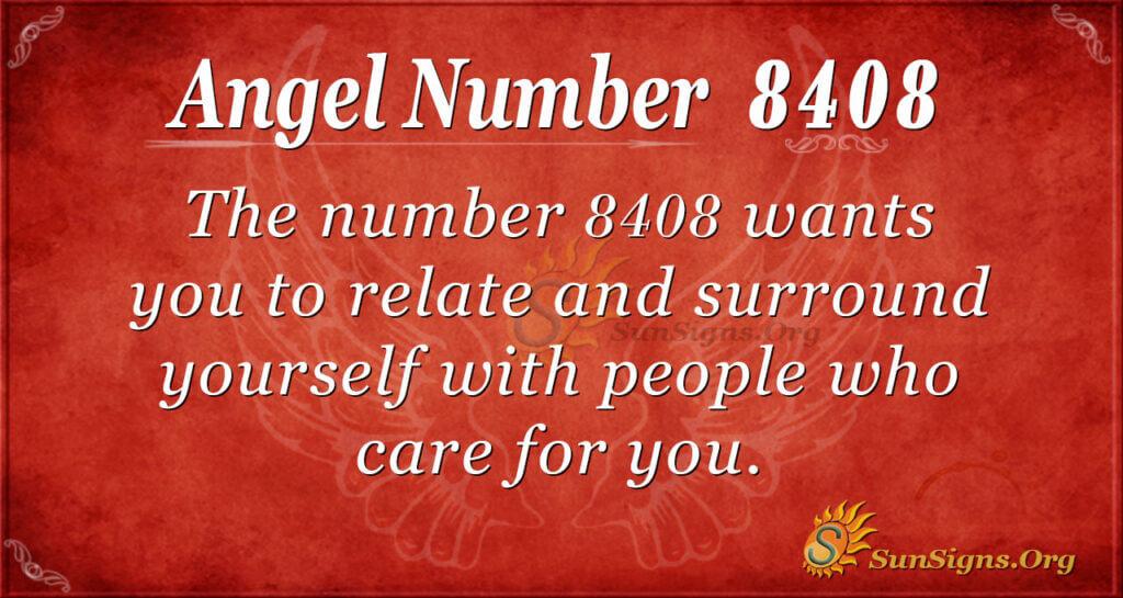 8408 angel number