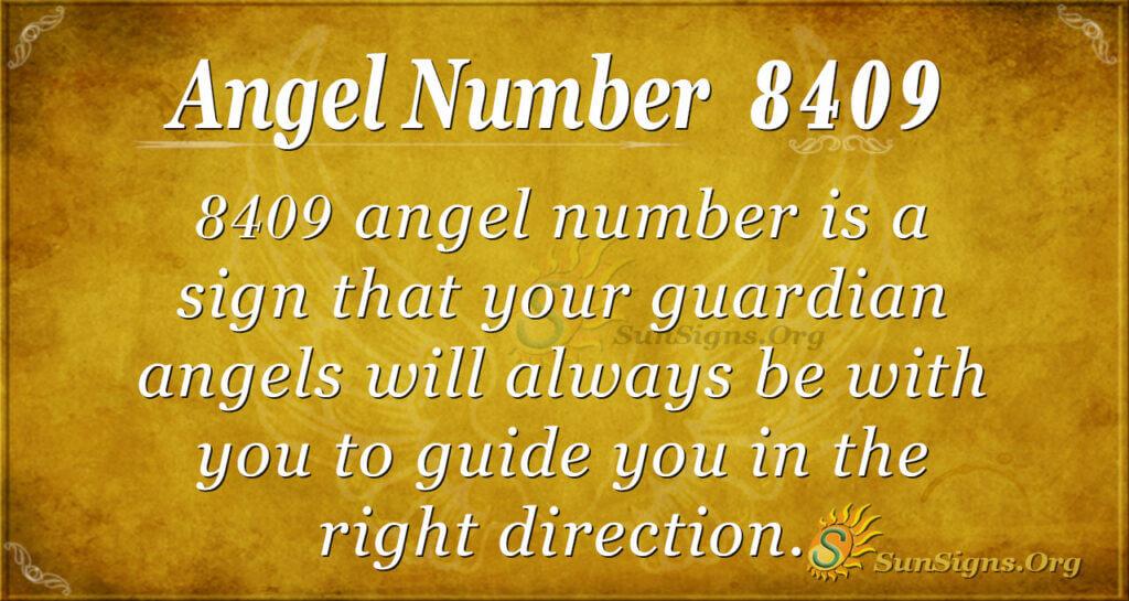 8409 angel number