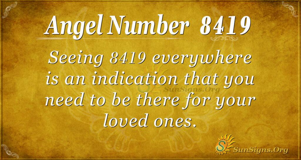 8419 angel number