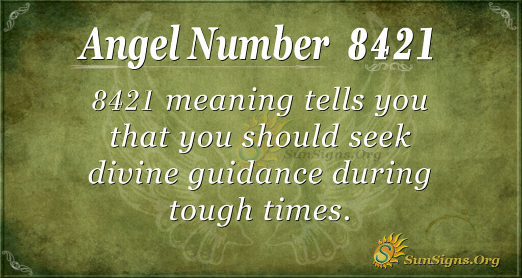 8421 angel number