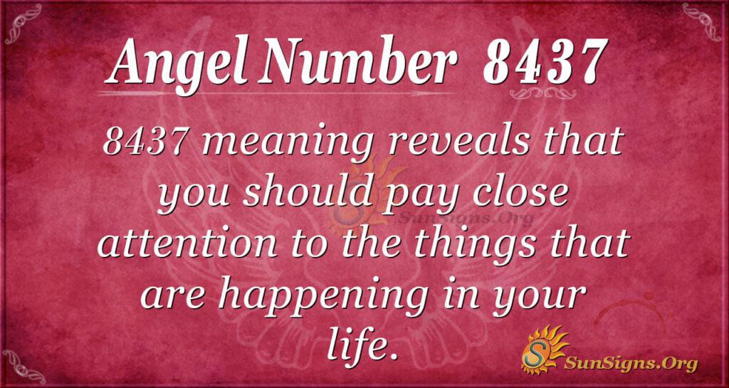 8437 angel number